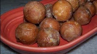 Gluten Free Orange Olive Oil Donut Holes