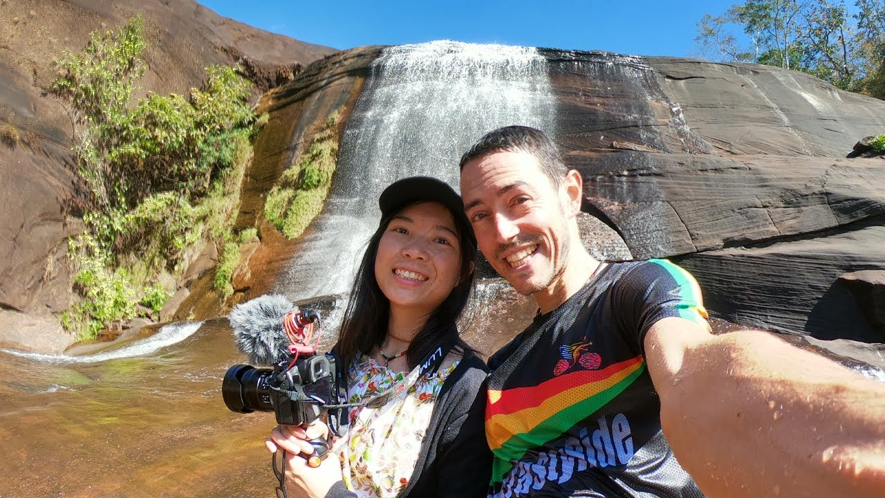 '7-Color Waterfall,' and We Had The Entire Park To Ourselves! My First trip to BeungKan