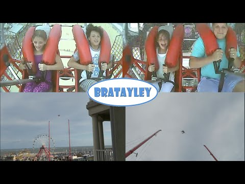 Ride Reactions | The Slingshot in Ocean City (WK 240.4) | Bratayley