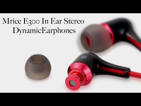 Mrice E300 In Ear Stereo Dynamic Earbuds #review