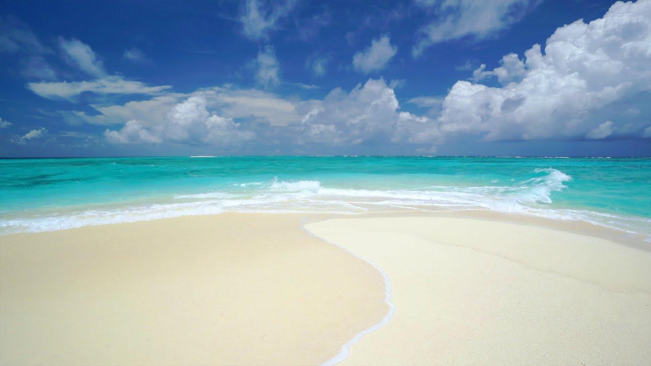 The Perfect Paradise Beach Scene In 4k