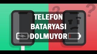 CEP TELEFON ŞARJI HEMEN BİTENLER UZUN SÜRE DAYANMAYANLAR İZLESİN %100 ÇALIŞIYOR / BATARYA ŞOKLAMA