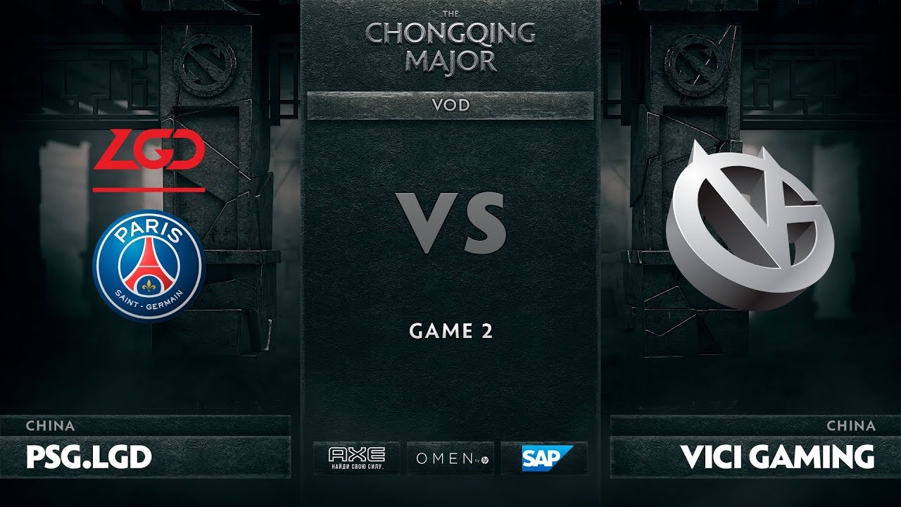 [RU] PSG.LGD vs Vici Gaming, Game 2, The Chongqing Major UB Round 1