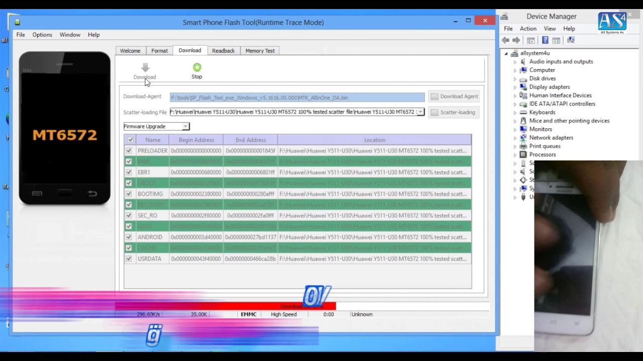 Huawei y511-t00 firmware free download.