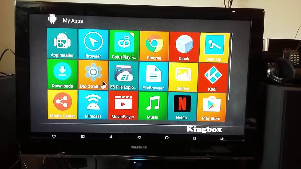 kingbox android tv box k3 android 7.1 box with amlogic s912