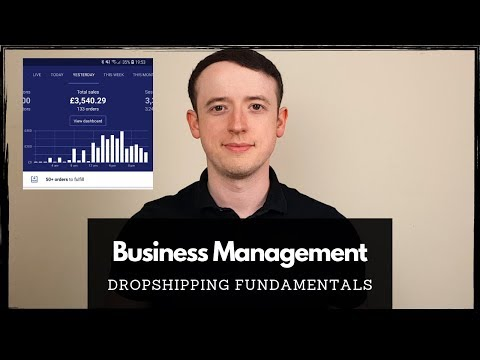 Business Management | Dropshipping Fundamentals thumbnail