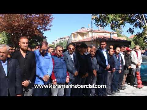 Karaman Haber - Halil Yılmaz Cenazesi