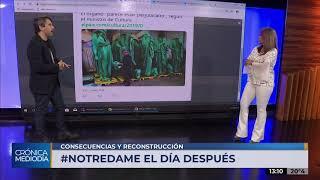 Evaluaciones tras el incendio de la iglesia de Notre Dame