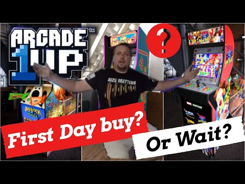 Arcade 1Up | First Day Buy? | Wait for New Bundles? from Basic Reviews by David