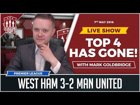 West Ham United vs Manchester United 3-2| Martial Goals not enough