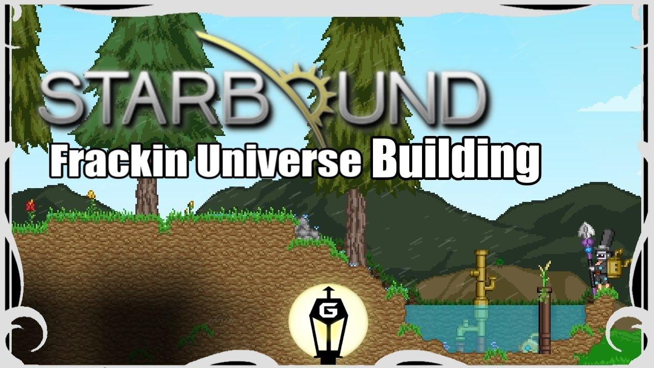starbound how to start frackin universe