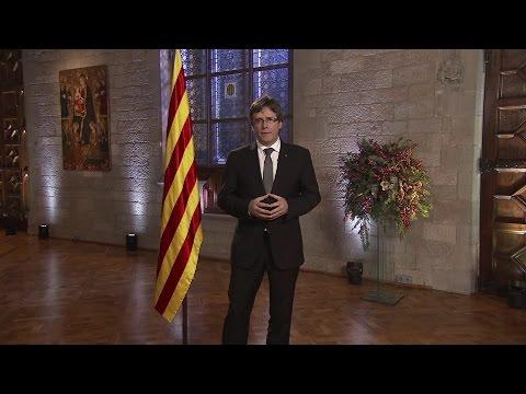 Missatge de Cap d'Any del president de la Generalitat de Catalunya