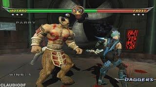 Mortal Kombat Armageddon MOTARO - (VERY HARD) - (WII)【TAS】1HIT