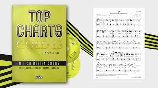 Top Charts Gold 13 - Die 30 besten Songs für Klavier, Keyboard, Gitarre und Gesang