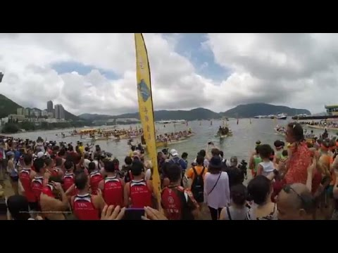 【Hong Kong Walk Tour】 dragon boat @ stanley 2016