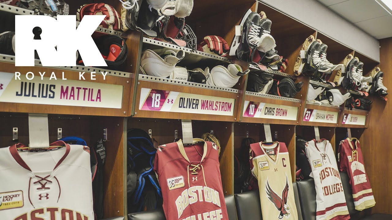 88b1d6d85 We Toured the Boston College Eagles' INSANE Hockey Facility | Royal ...