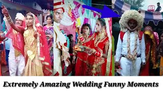 Extremely Funny Marriage Videos | Wedding Funny Moments By Satark News Part #2