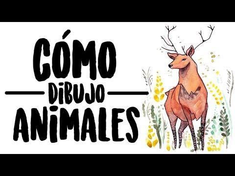 CÓMO DIBUJAR ANIMALES FÁCIL | IvArt