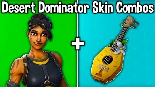 20 BEST 'DESERT DOMINATOR' SKIN + BACKBLING COMBOS! (Fortnite New Best Skin)