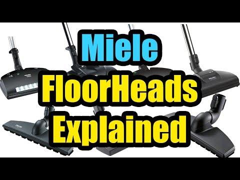 Miele Floorheads Attachments Explained - Carpet - Hard Floors - C1 C2 C3 etc