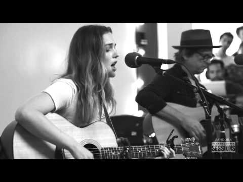 "Leighton Meester ""Heartstrings"" - Pandora Whiteboard Sessions"