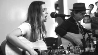 Leighton Meester Heartstrings - Pandora Whiteboard Sessions