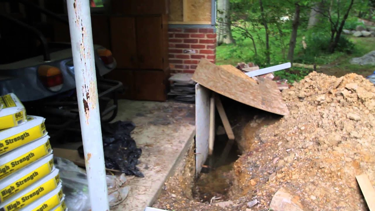 Converting a Carport Into a Garage with Underpinning | Ron ...