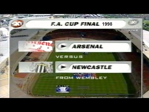 ARSENAL FC V NEWCASTLE UNITED FC-FA CUP FINAL-THE  BUILD UP 1998- CUP FINAL COVERAGE-PART 3