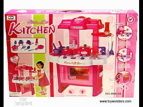 [HINDI-हिन्दी ]kitchen play set by play at home unboxing review