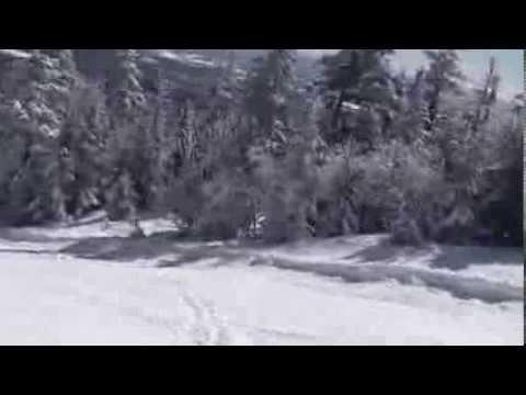Skiing Madonna Mtn (  Smugglers Notch Vt)   top to bottom