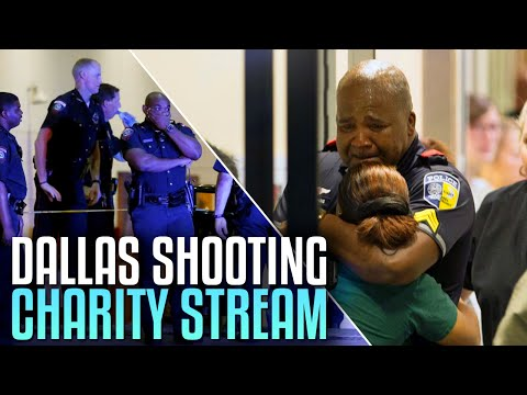 DALLAS SHOOTING CHARITY STREAM! (Call of Duty: Black Ops 3 Livestream)