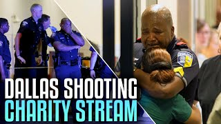 dallas shooting charity stream call of duty black ops 3 livestream