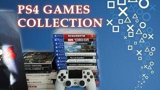 Моя коллекция игр на PS4 Ноябрь 2018 I PS4 Games Collection November 2018
