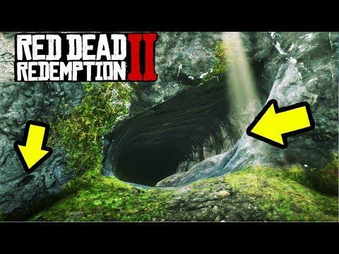 HIDDEN MONEY CAVE IN RED DEAD REDEMPTION 2!