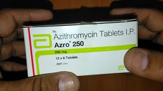 Azro 250 Tablets review in Hindi Best Respiratory tract infection Treatment