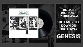 Genesis - The Light Dies Down On Broadway (Official Audio)