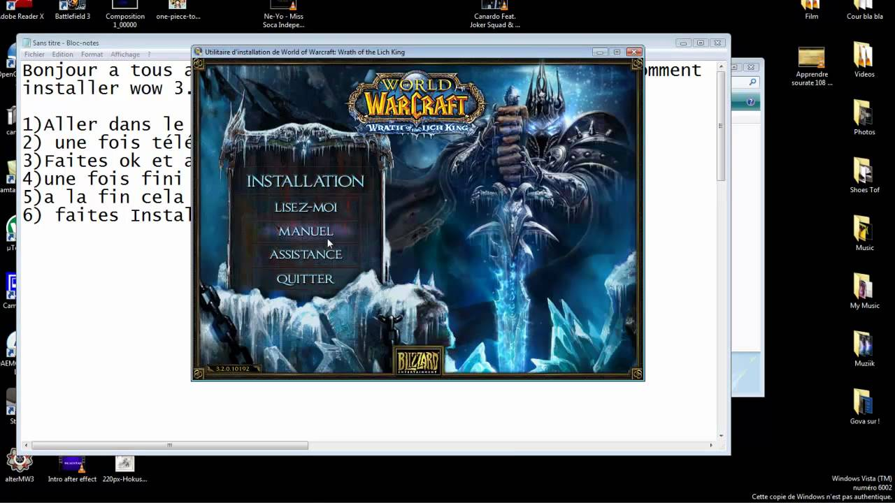 WOTLK OF TÉLÉCHARGER GRATUITEMENT WARCRAFT WORLD CLUBIC