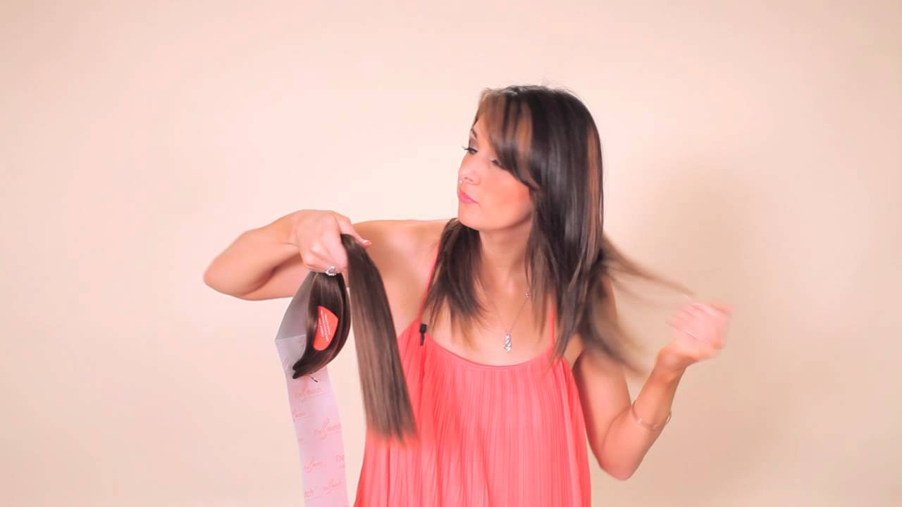 How To Choose Right Clip In On Hair Extensions Matching Your Hair