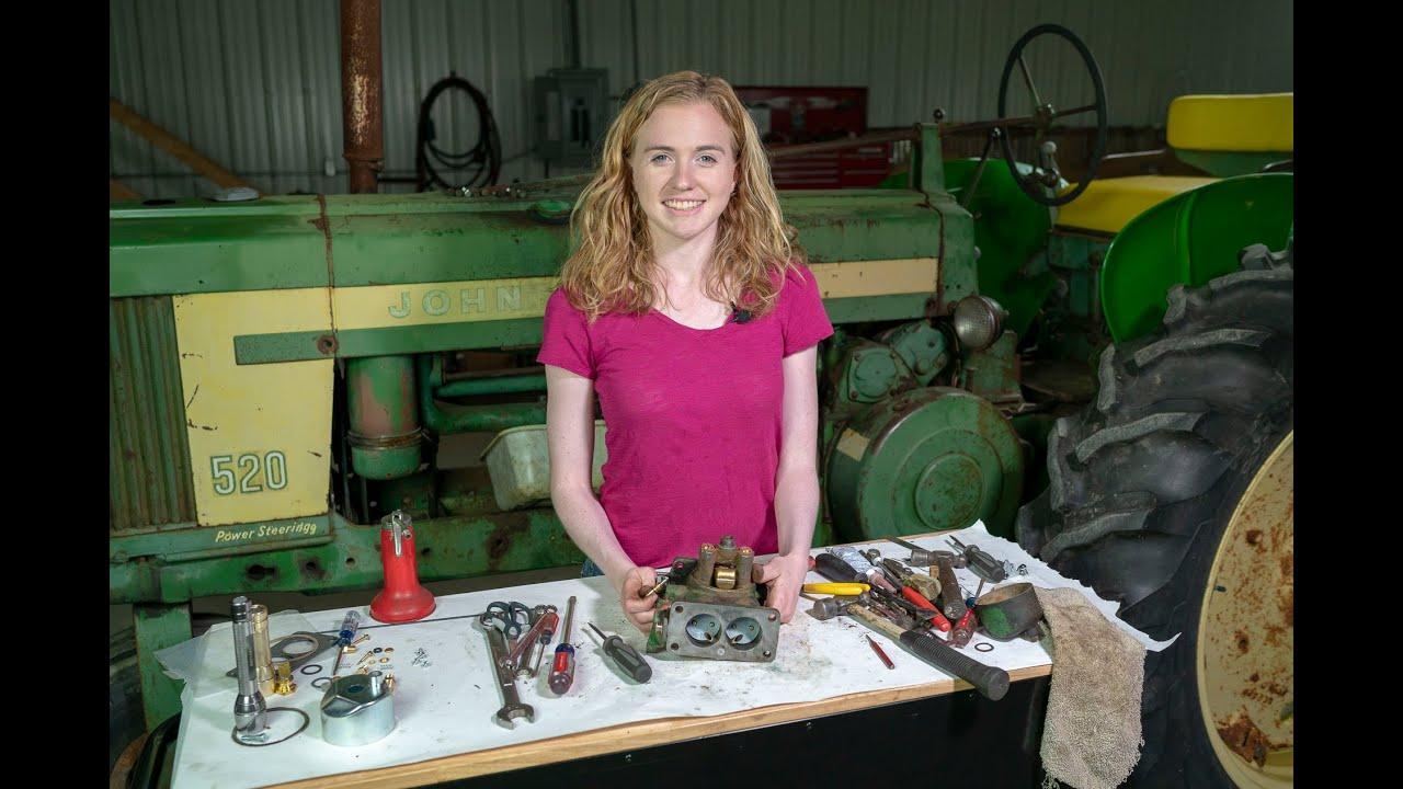 John Deere Duplex Carburetor Rebuild: 50, 60, 70, 520, 620