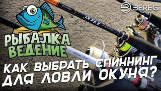 Рыбалка Ведение: Как выбрать Спиннинг для ловли Окуня?