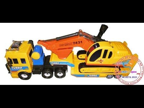 Xe chở xe máy xúc - http://dochoihanquoc.vn - 0462783521