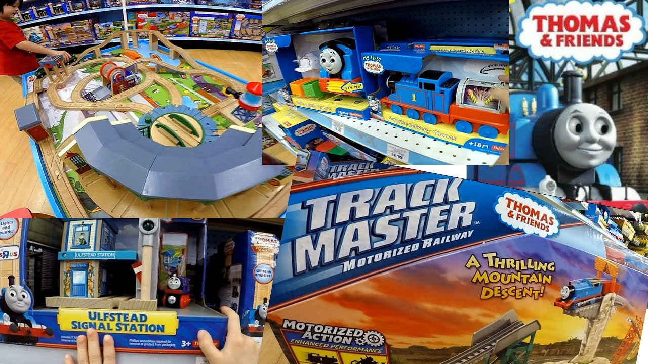 """Thomas And Friends Play Set & Train Table    Toys""""R""""Us Toy ..."""