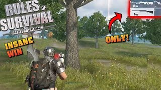 WRO & AWM Only In SOLO FIRETEAMS Challenge! (Rules of Survival #142)
