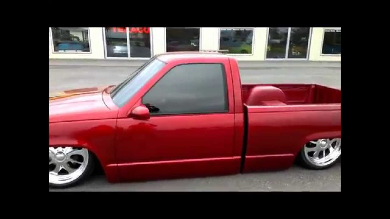 All Chevy 1995 chevy c1500 : 1995 Chevrolet 1500 Pickup with air ride - YouTube