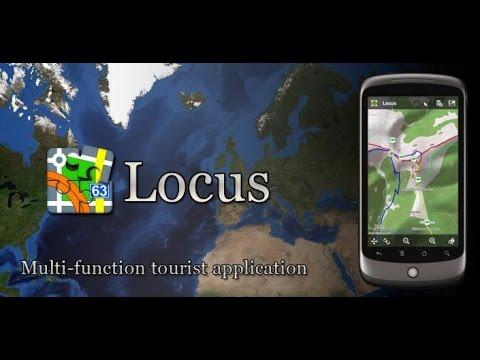 Программа навигатор Locus Map ( Спутниковые карты оффлайн )