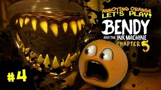 BENDY the Ink Machine Ch. 5 THE END Annoying Orange Plays