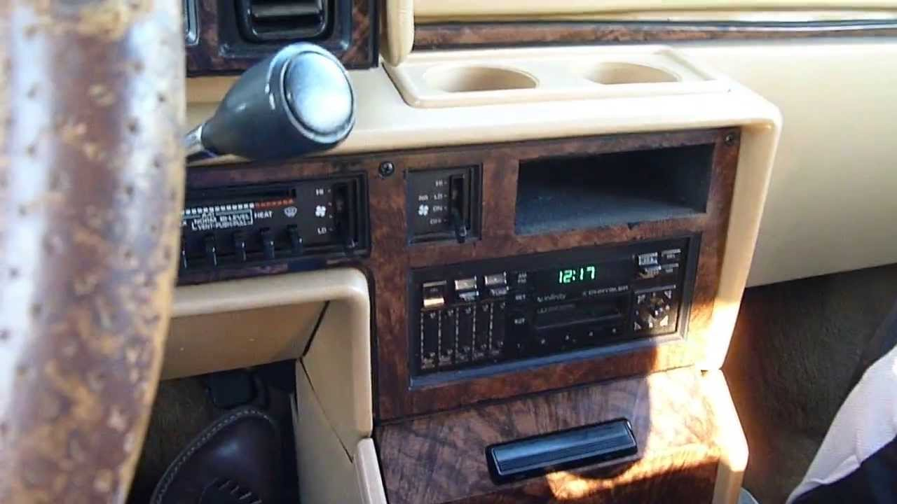 Test Driving The 1990 Chrysler Town And Country Minivan