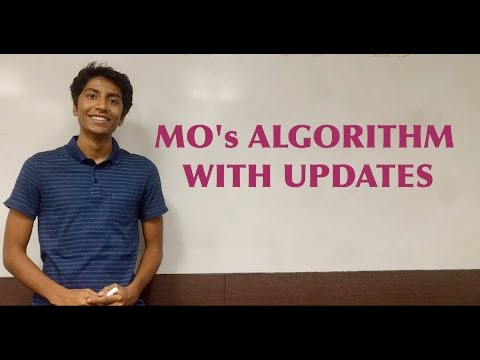 Mo's Algorithm With Updates