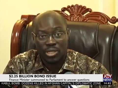 $2.25 Billion Bond Issue on JoyNews (31-5-17)