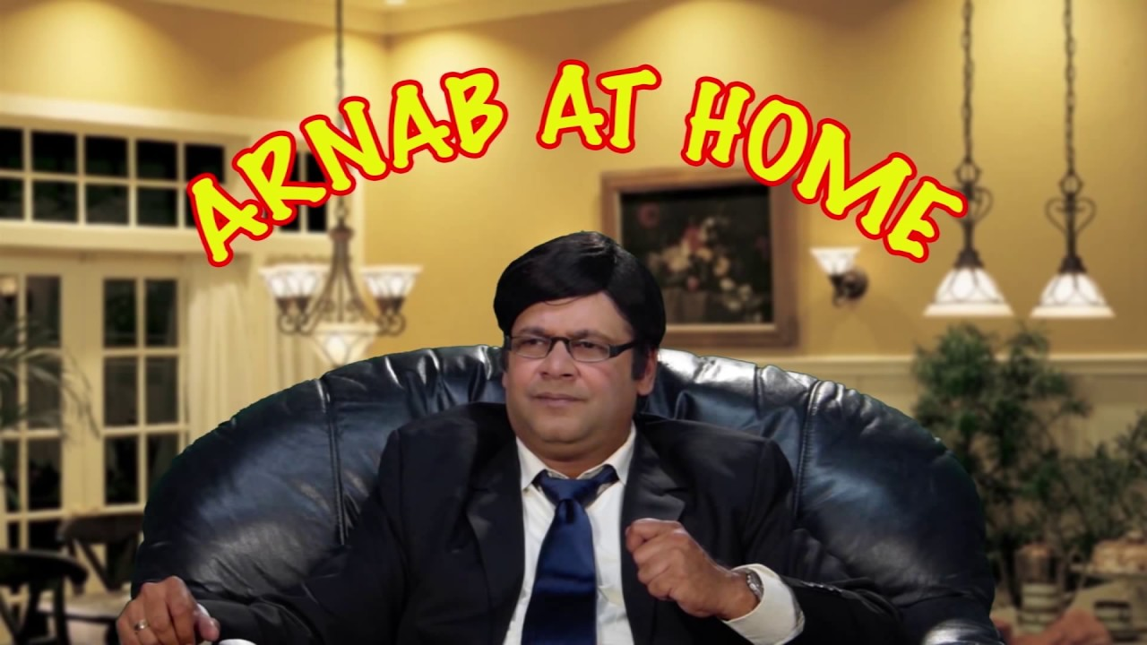 Arnab at Home after Resigning - Comedy One